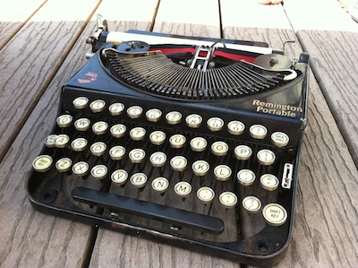 1925 Remington Portable Typewriter