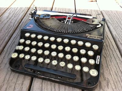 1925 Remington Portable Typewriter