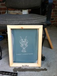 Foot Lobster Screen