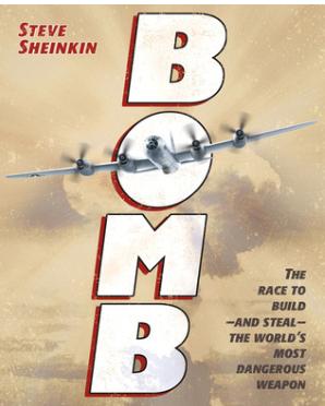 Cover, Sheinkin's Bomb